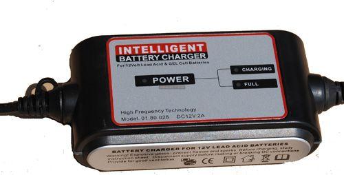 Motor akkumulátor töltő