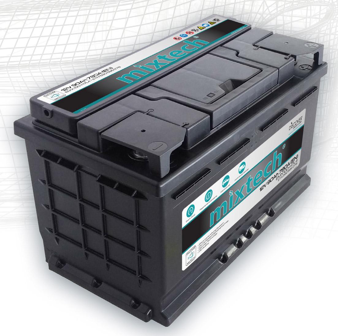 Mixtech autó akkumulátor